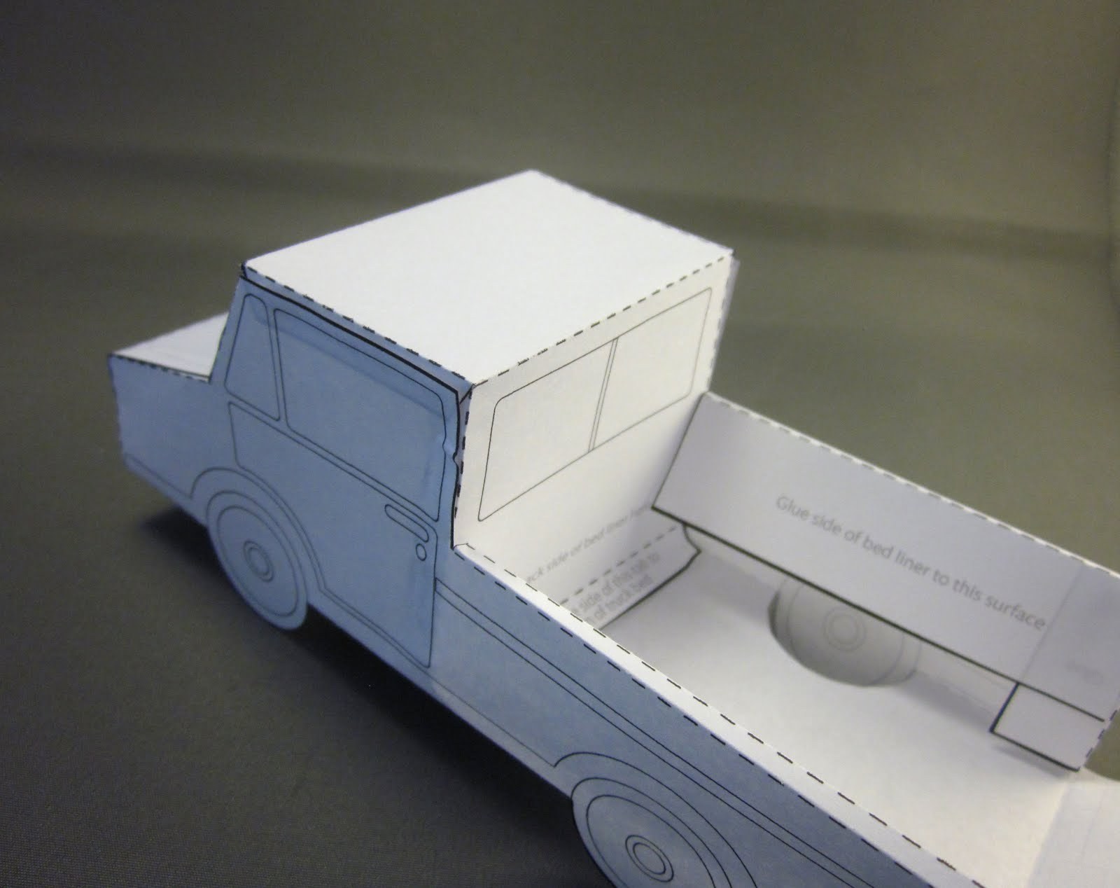 Id Mommy Idmommy Project Paper Truck Pattern