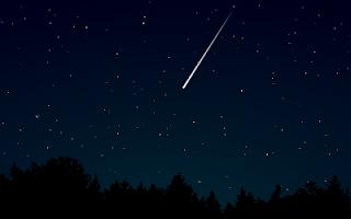 Notte di San Lorenzo stella cadente