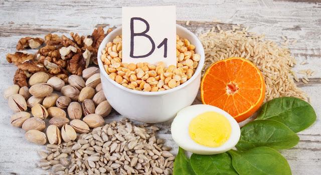 وظائف وفوائد الثيامين ( فيتامين  B1 ) ، المصادر الغذائية ، نقصه وسميته