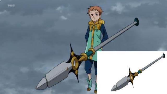 Spirit Spear Chastiefol - Senjata Suci milik Anggota Nanatsu no Taizai