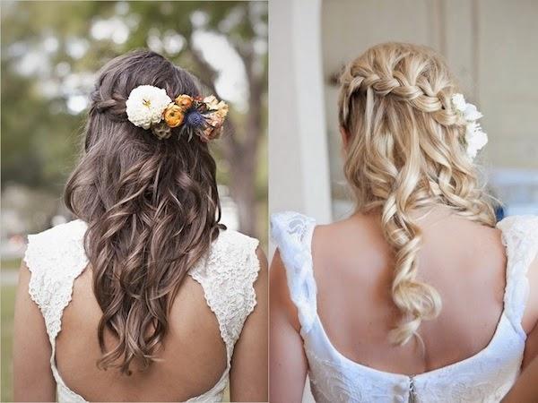Xu hướng kiểu tóc cô dâu mùa thu 2014 mới lạ và bay bổng10