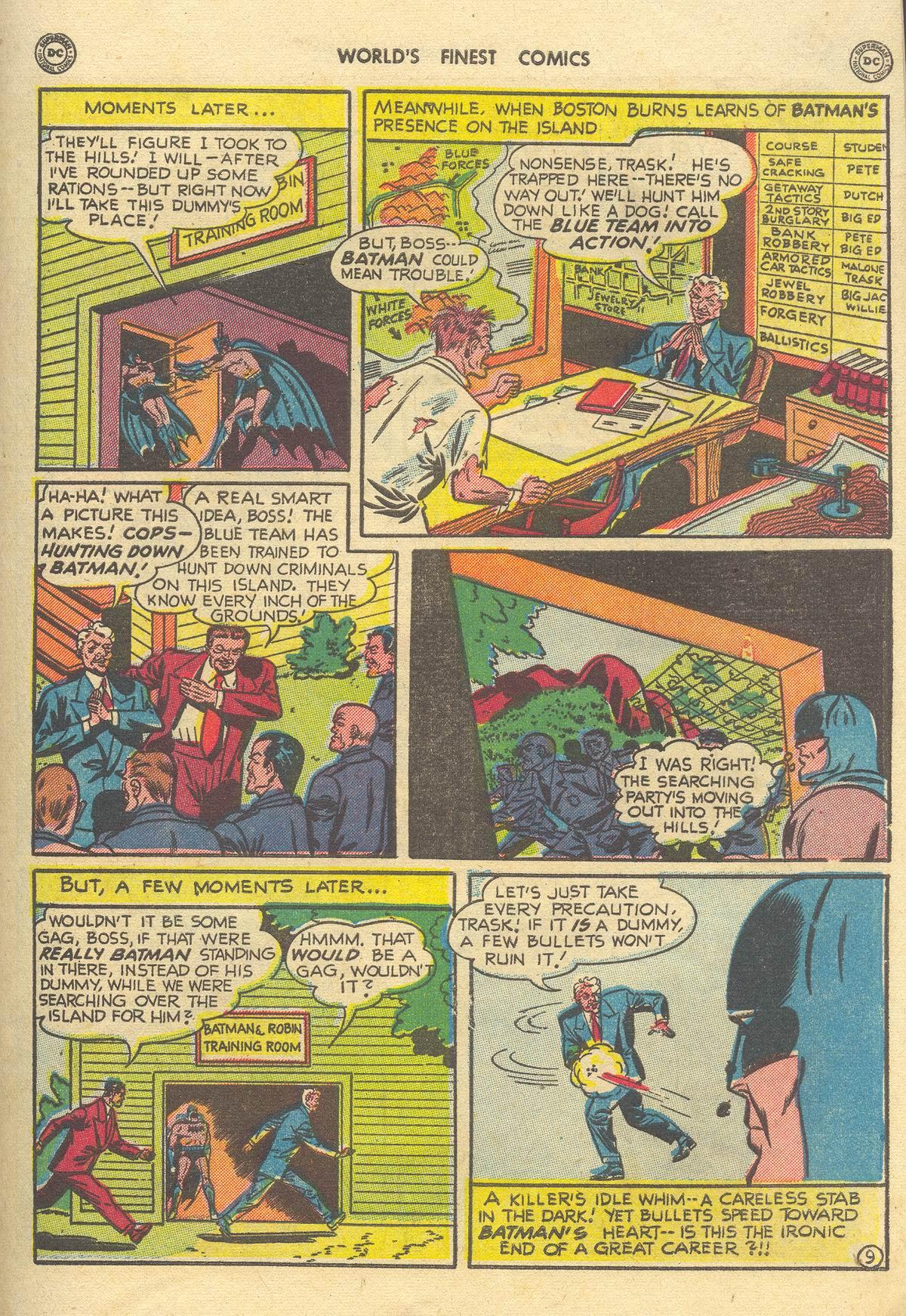 Read online World's Finest Comics comic -  Issue #51 - 71