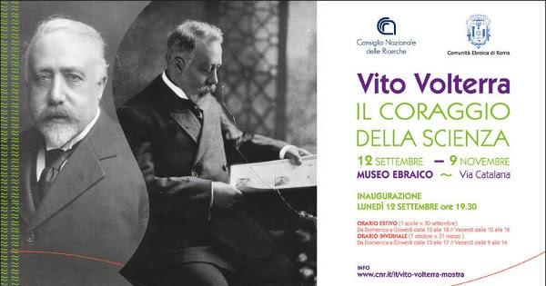 Resoconto sulla mostra di Vito Volterra a Roma