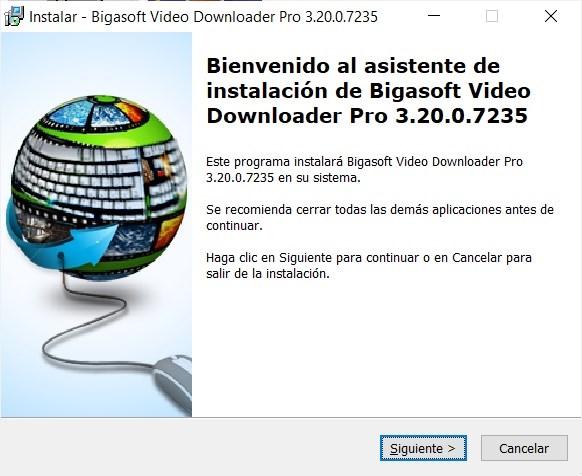 Bigasoft Video Downloader Pro 3 Full imagenes