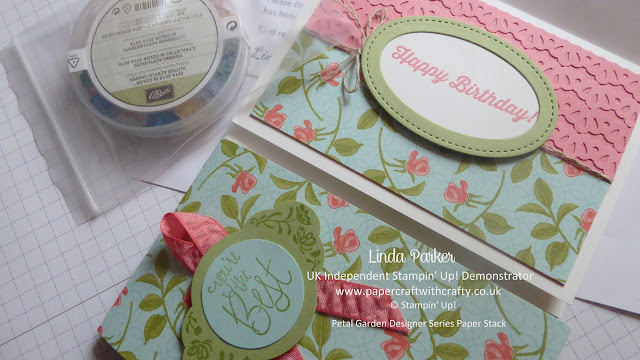 Pretty Petals, Stampin Up, Label Me Pretty