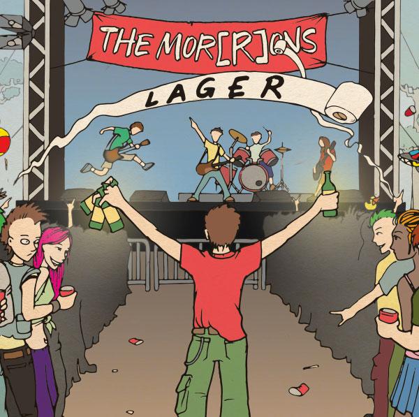 """The Mor(R)ons stream new album """"Lager"""""""