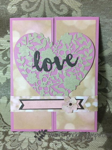 Bloomin' Heart Thinlits Stampin'Up