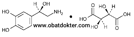 senyawa-norepinephrine-bitartrate