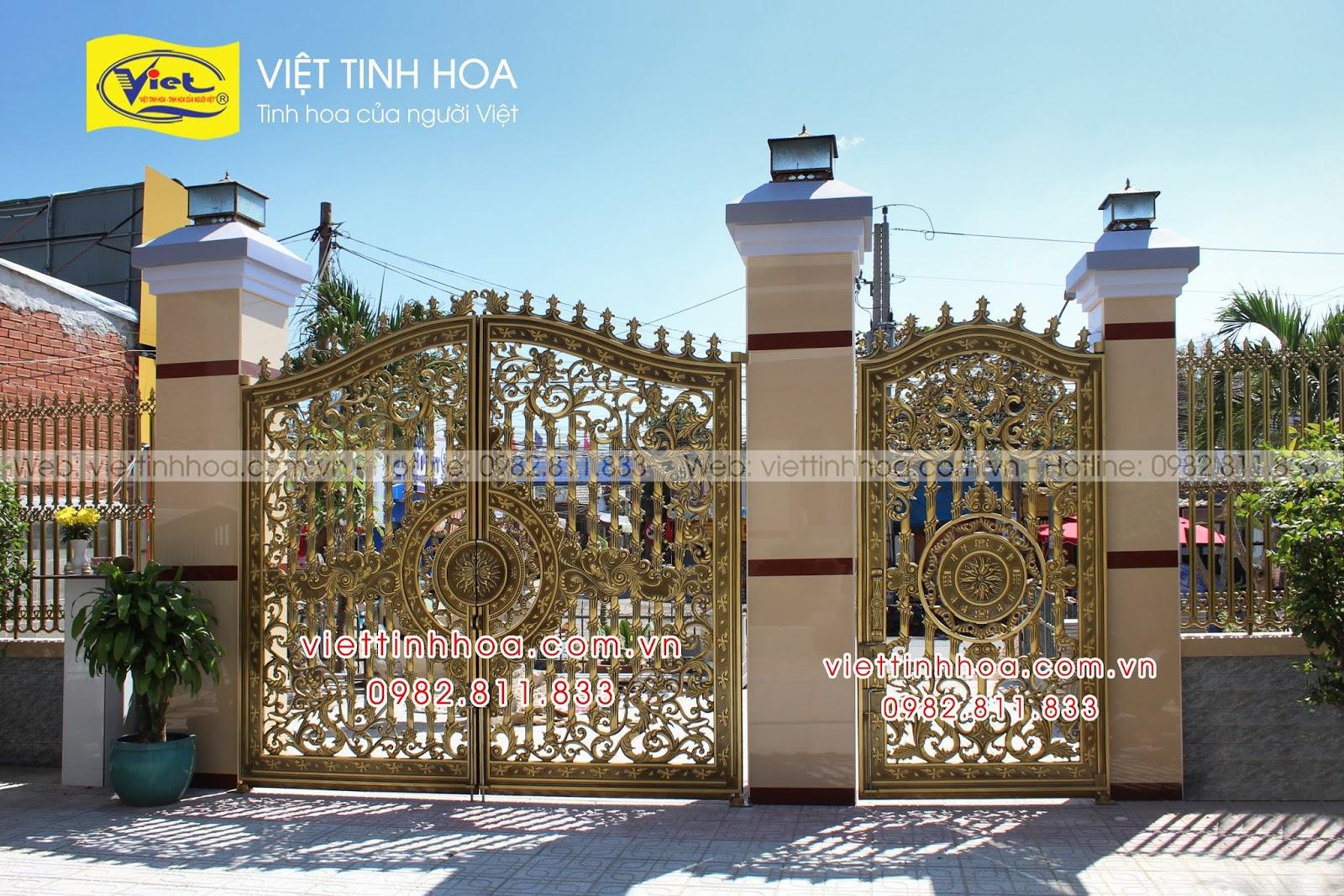 Cổng Nhôm Đúc An Giang