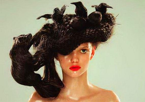 En Sıradışı İlginç Saç Modelleri