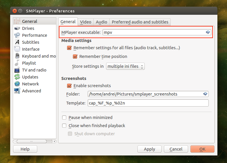 How To Install SMPlayer With mpv Support In Ubuntu Or Linux Mint