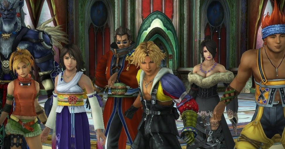 Let's talk about the characters of Final Fantasy X