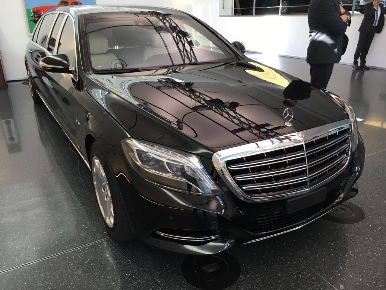Brand new factory armored Mercedes-Maybach S600 Vv222 Guard