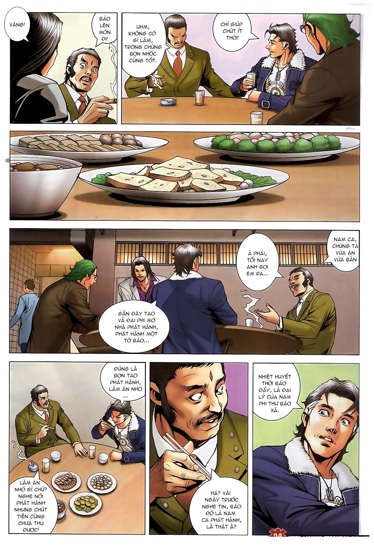 Người Trong Giang Hồ - Chapter 1576: Trần Hạo Nam vs Sơn Đông Hổ - Pic 22
