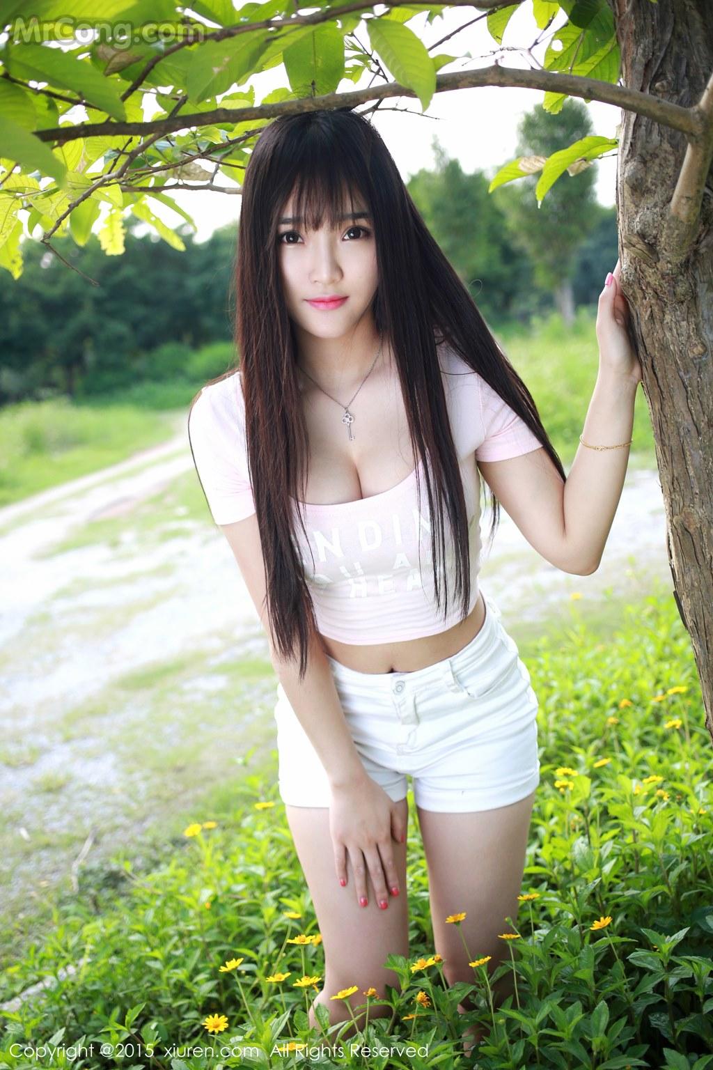 MrCong.com XIUREN No.345 Xia Yao baby 027 - XIUREN No.345: Model Xia Yao baby (夏 瑶 baby) (43 pictures)