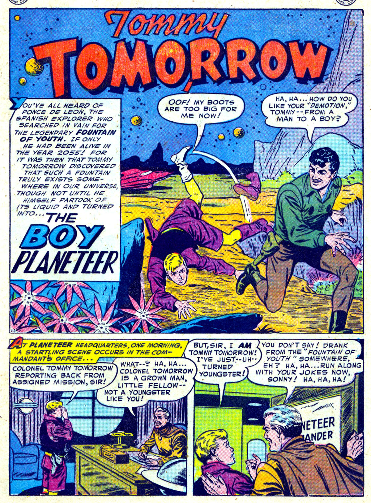 Read online Action Comics (1938) comic -  Issue #204 - 14