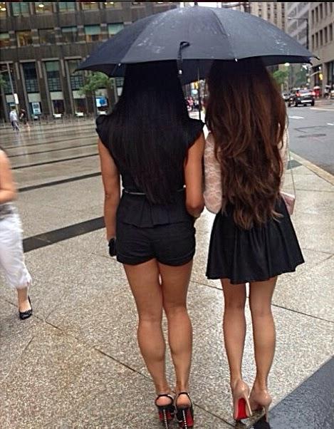 Asian Women Calves 52