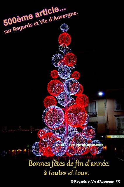 Vichy, Noel centre commercial les quatre chemins