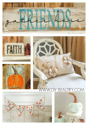 Fall decor with my favorite things | diy beautify