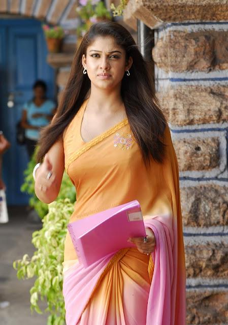Nayanthara saree images