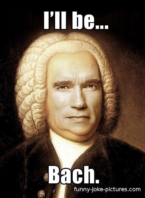 Hilarious Terminator Schwarzenegger Bach Punology Compose Meme