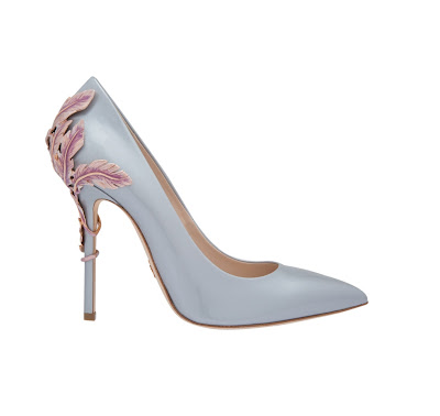 Ralph & Russo Alina Patent Leather Pumps