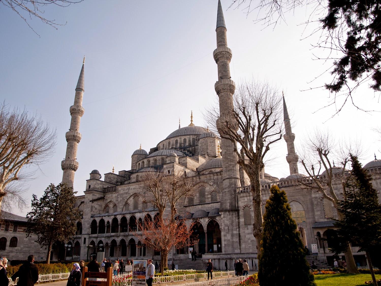Sultanahmet Camii - Mezquita Azul