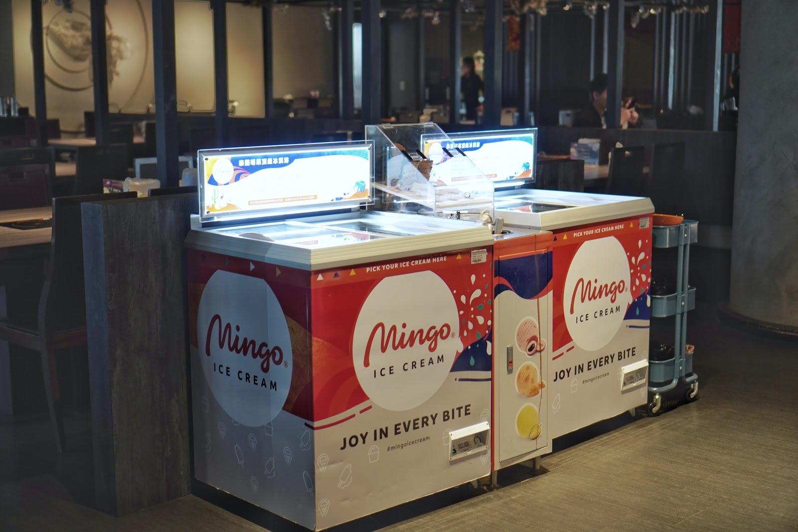 台南東區美食【XM麻辣鍋德安店】環境介紹 冰品區