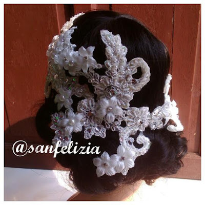 Terima jasa jahit atau bikin hiasan kepala, hiasan rambut, aksesoris pengantin, hand bouquet, bunga tangan pengantin, gelang bunga bridesmaid, hairpiece, head accessories, aksesoris kepala, aksesoris rambut