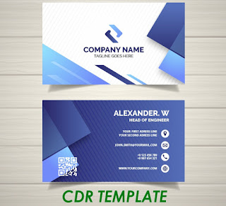 BUSINES CARD TEMPLATE AI-CDR
