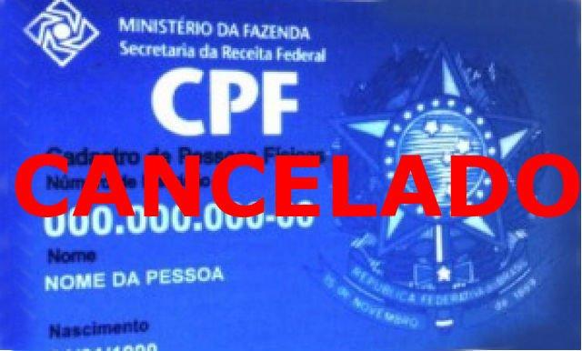 Mais de 13,2 mil CPFs são cancelados pela Receita Federal no Maranhão