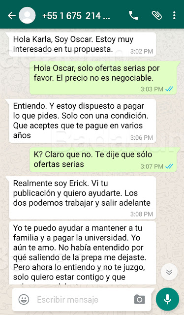 MEXICANA DE 18 AÑOS VENDE SU VIRGINIDAD POR 5 MILLONES DE PESOS… MIRA TODO LO QUE SE DEJARÁ HACER. Whatsapp 1