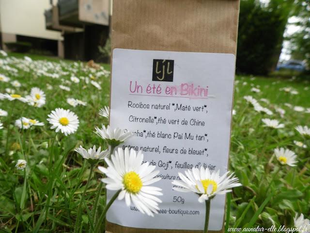 """thé 100% naturel """"un été en bikini"""" - Les Jardins de Lee"""