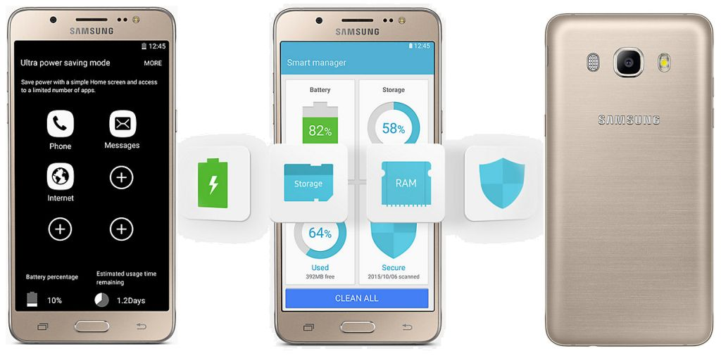 Galaxy J5 SM-J510F with Specifications