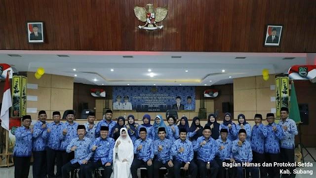 Pengurus Unit Korpri Se-Kabupaten Subang Dikukuhkan