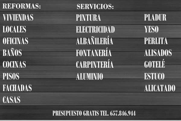 pintor en Torremolinos servicios