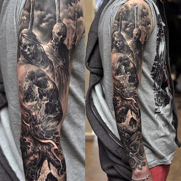 Full Sleeve Tattoos Tattoo Designs 2019