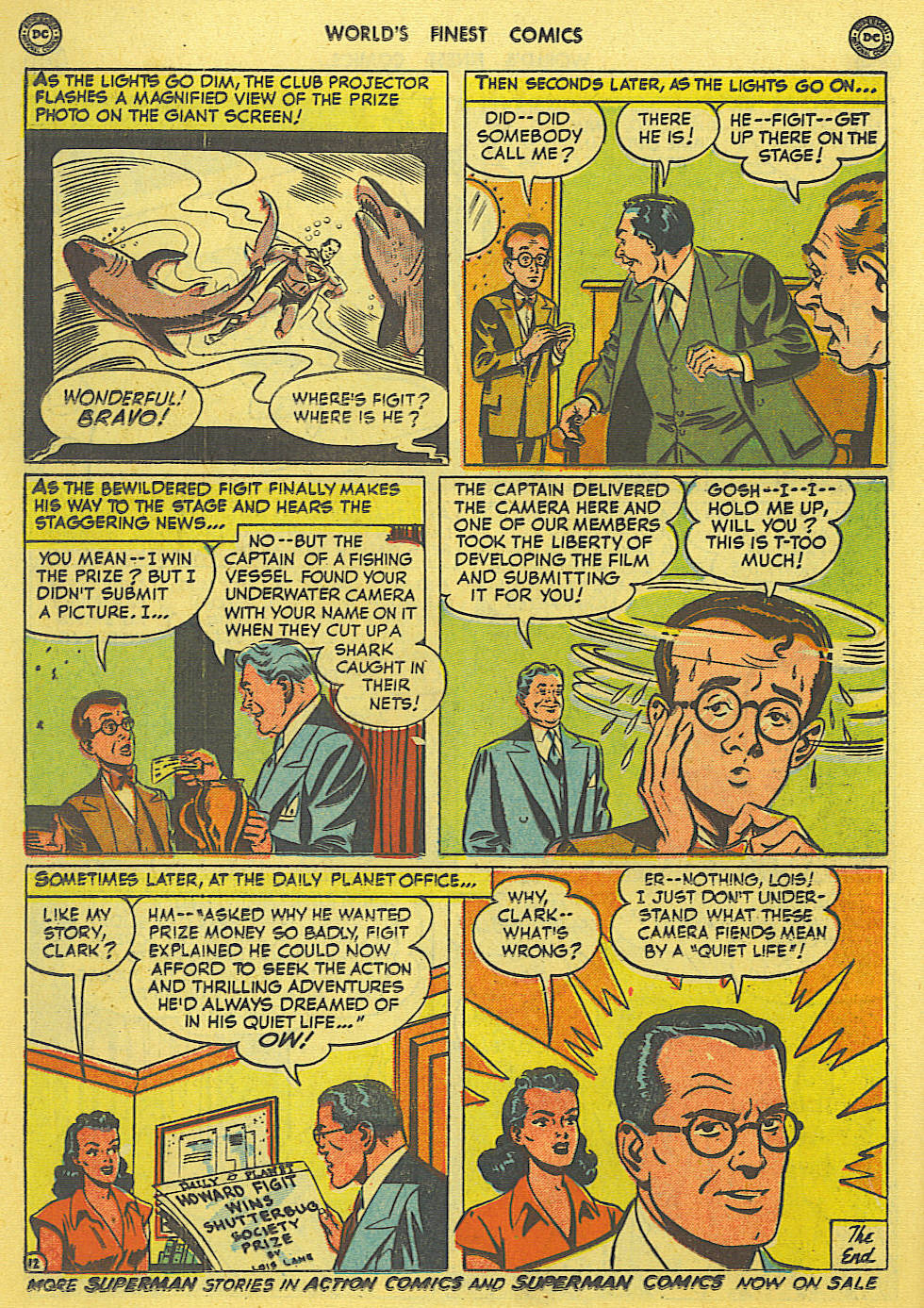 Read online World's Finest Comics comic -  Issue #49 - 15