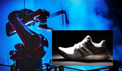 Adidas Produksi Robot Pembuat Sepatu Gantikan Manusia