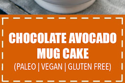 Chocolate Avocado Mug Cake (Paleo, Vegan, Gluten Free)