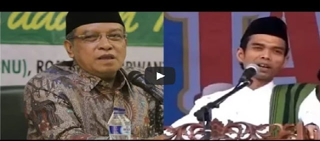 Astagfirullah, Said Aqil Siradj Sebut Ustadz Abdul Somad : Emang Dia Ulama?