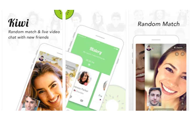 Kiwi Live Video Chat With New Friends Mobile App Youth Apps