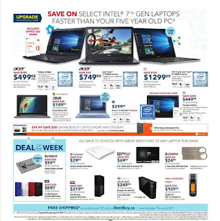 Best Buy Flyer  Weekly - Upgrade Your School Year valid August 25 - 31, 2017