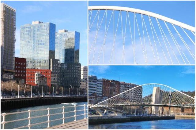 Ria Nervion – Puente de Zubizuri en Bilbao