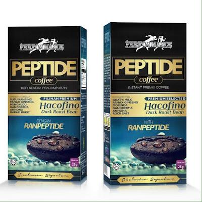 Peptide Coffee - Tingkatkan Tenaga Dan Pemulihan Sel