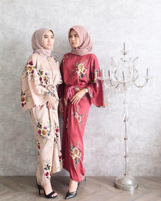 45 Model Baju Batik Muslim  2019 Simple Casual Modern