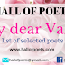 POETS SELECTED FOR HOP ANTHOLOGY OF LOVE (Paperback)