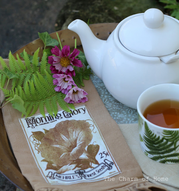 Fern Teatime: The Charm of Home #sponsored