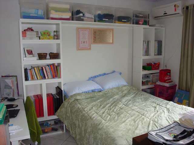 Meu quarto antes