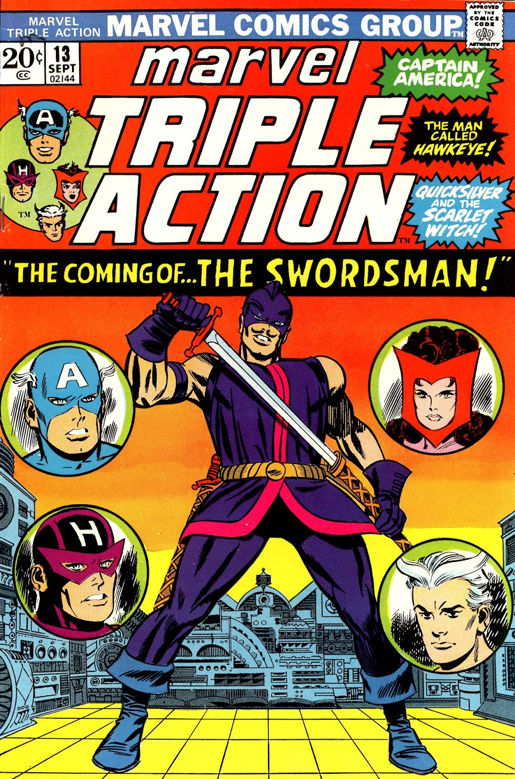 Marvel Triple Action (1972) issue 13 - Page 1
